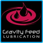 Side-Power Gravity Feed Lubrication