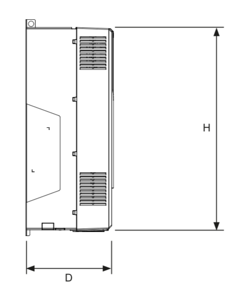 VFD Measurements - Side View